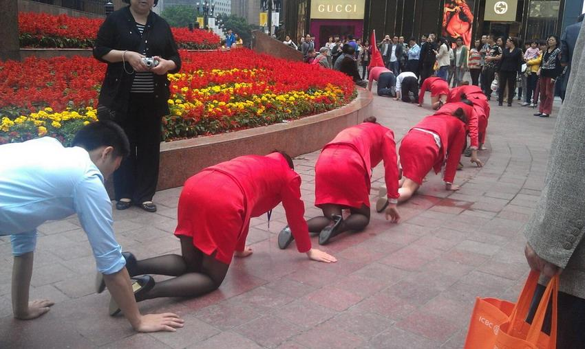 funny employee training in chongqing