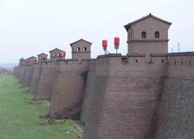 pinyao ancient city wall, pingyao information, pingyao travel